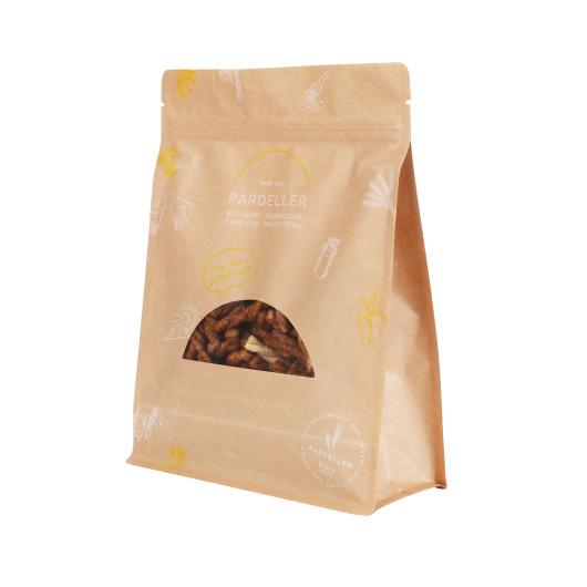 kraft paper package for food packaging