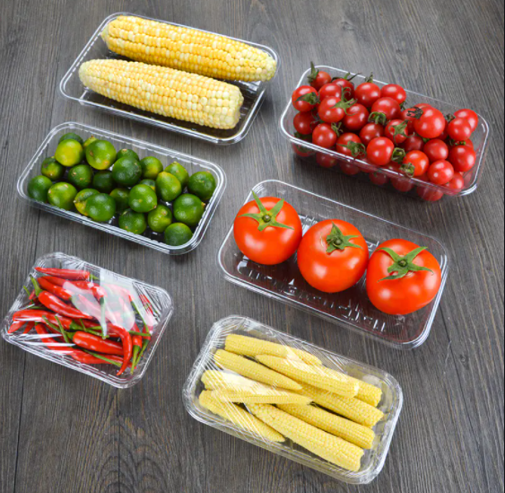take away container for fresh fruit and vegetables