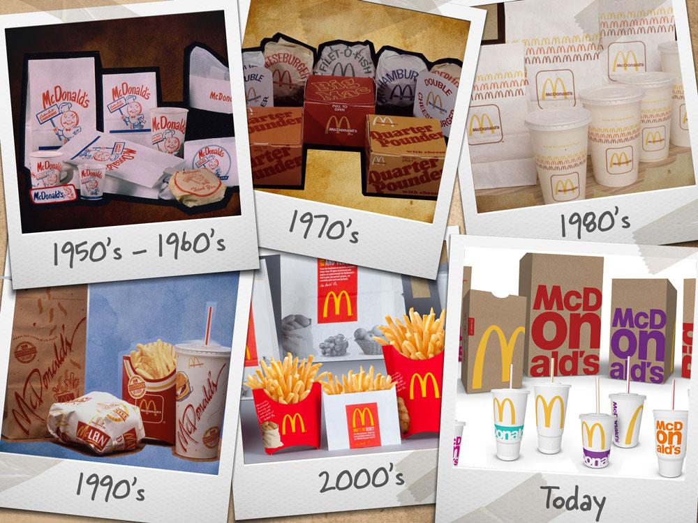 mcdonalds 2016 packaging evolution